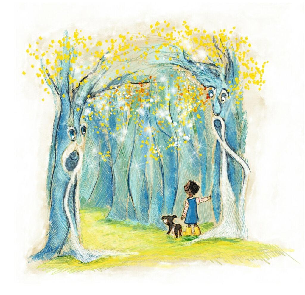 Der Tiefe Wald von Briefe für dich - Geschenk für Kinder von 5 - 10 Jahren